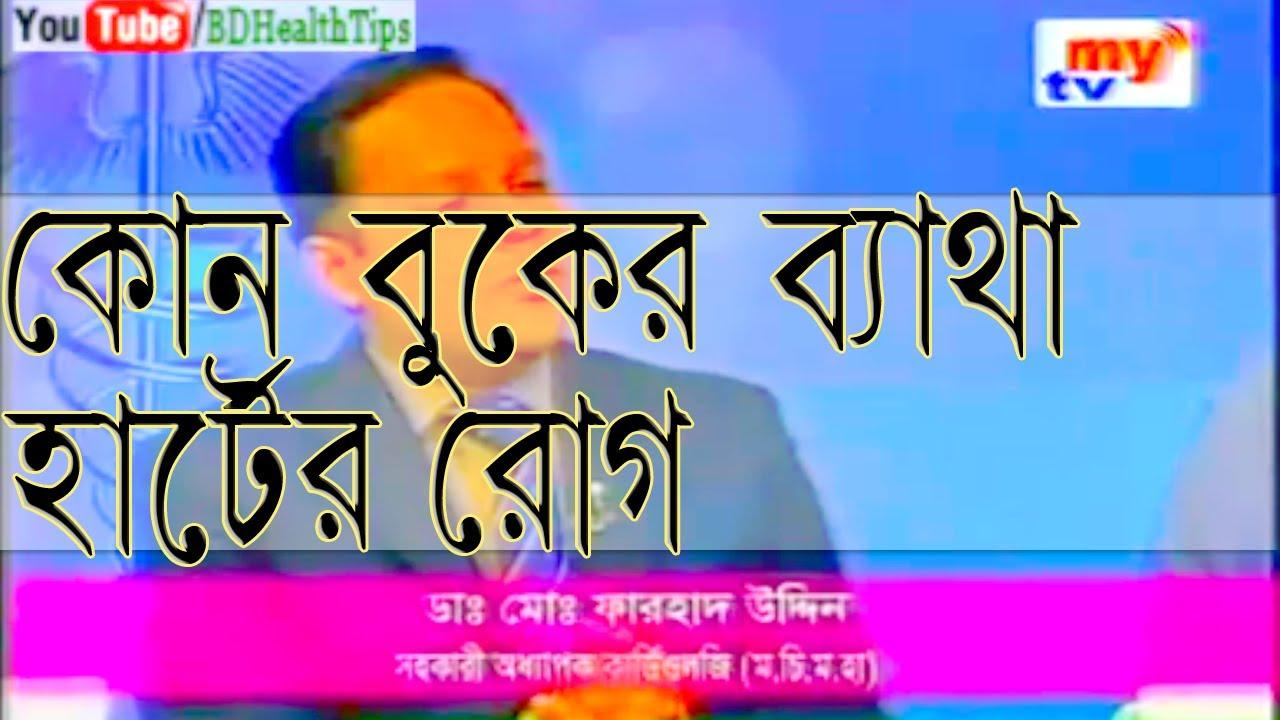 Upper body Ache and Cardiac Illness Symptoms Bangla Health Guidelines