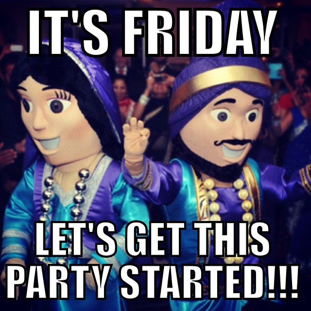 Its friday lets get this party started