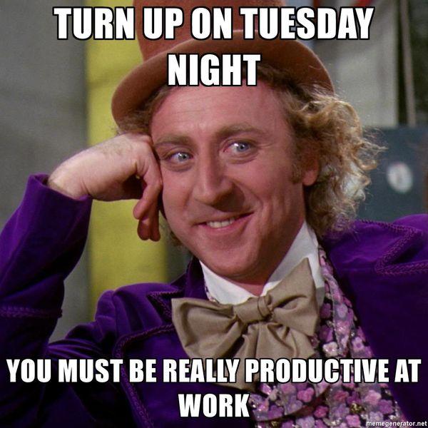tuesday meme work
