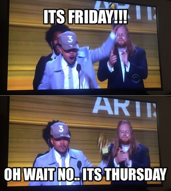 fuck this shit its Thursday meme