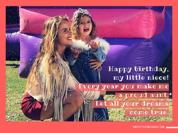Funny Birthday Wishes for My Favorite Niece 9