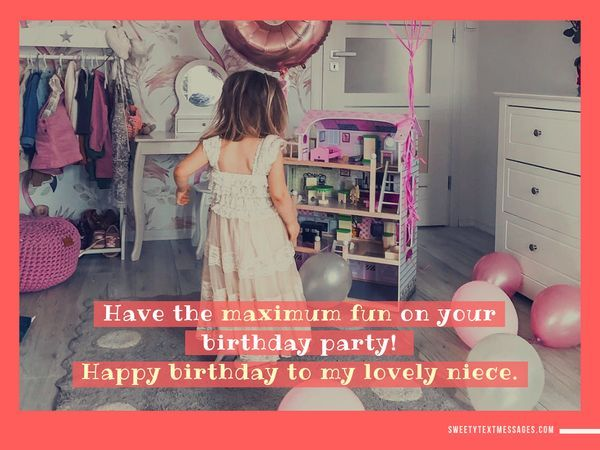 Happy Birthday Quotes to a Special Niece 4