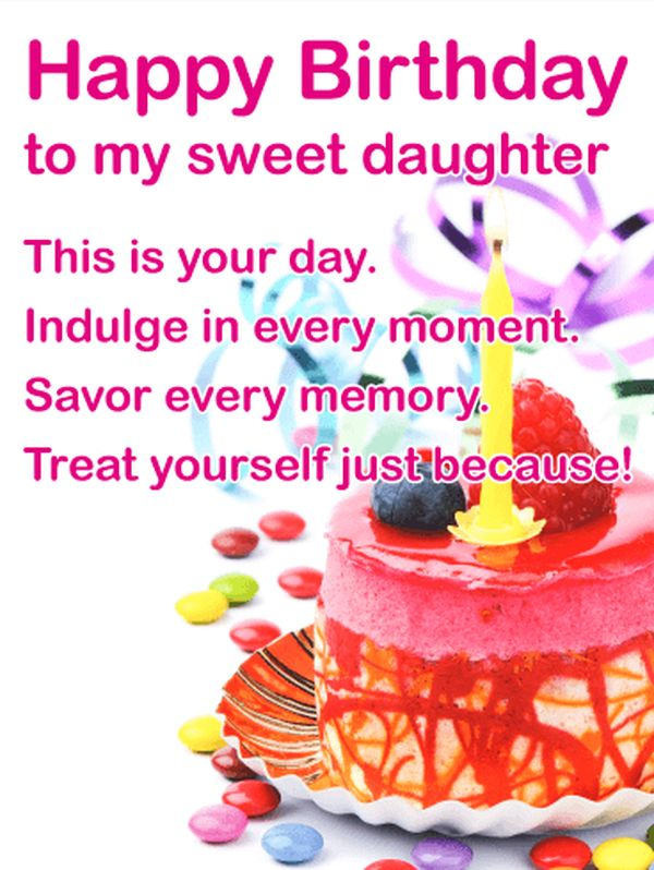 Awesome Birthday Wishes for Sweet Daughters