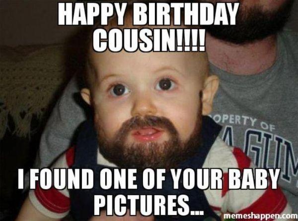 Great Birthday Meme for Cousin