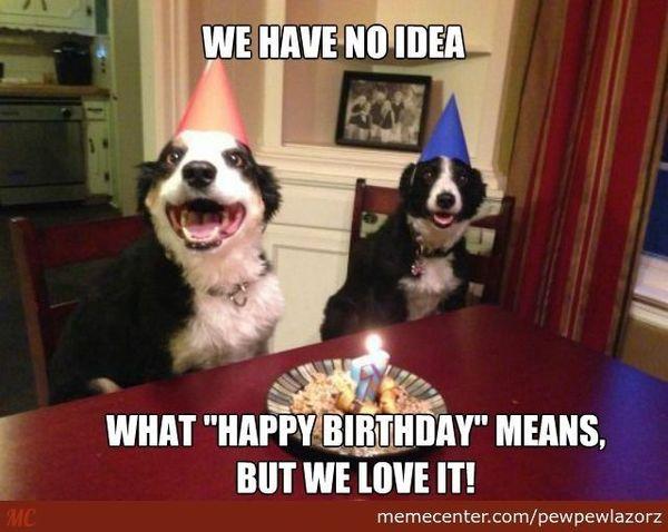 Happy Birthday Meme With Love