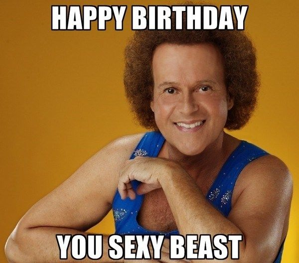 Best Happy Birthday Meme With the Sexy Meaning