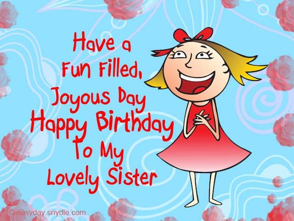 Happy Birthday Meme to Congratulate Your Sister