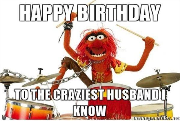 Best Happy Bday Meme for Beloved Husband