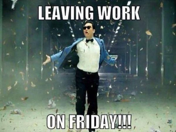 Exciting Walking Out of Work On Friday