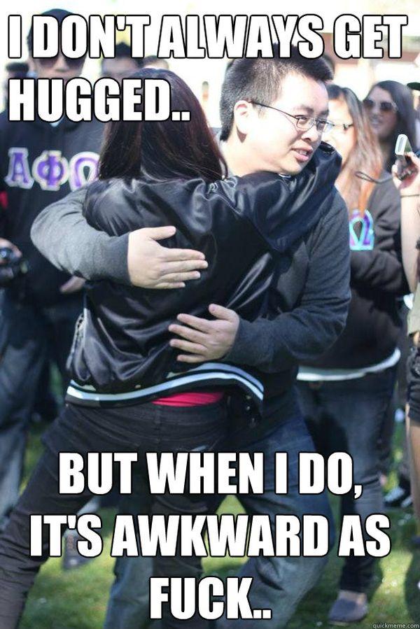 Fantastic creepy hug meme