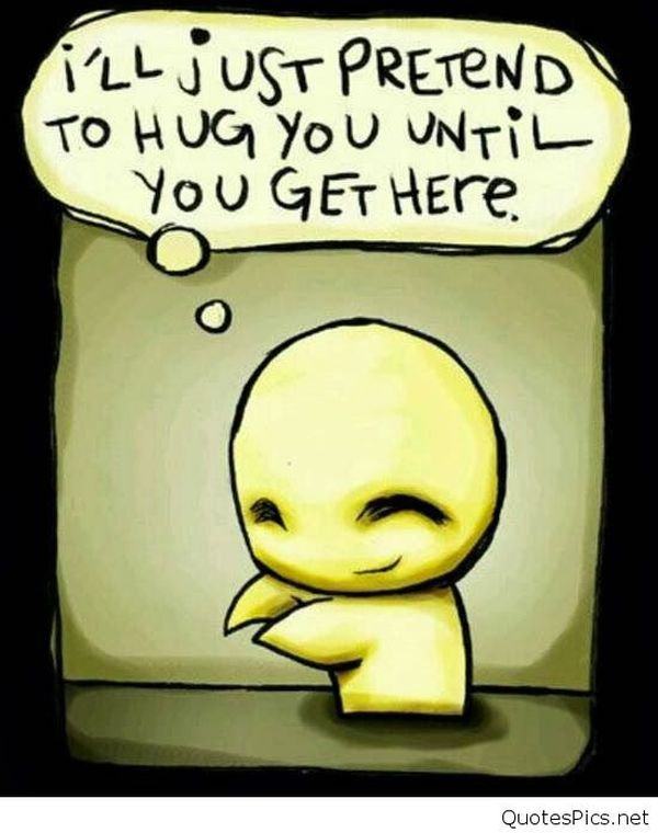 Jolly funny hug images