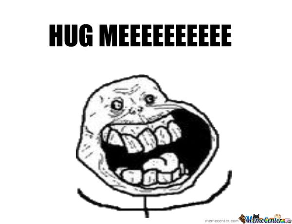 Outstanding give me a hug meme