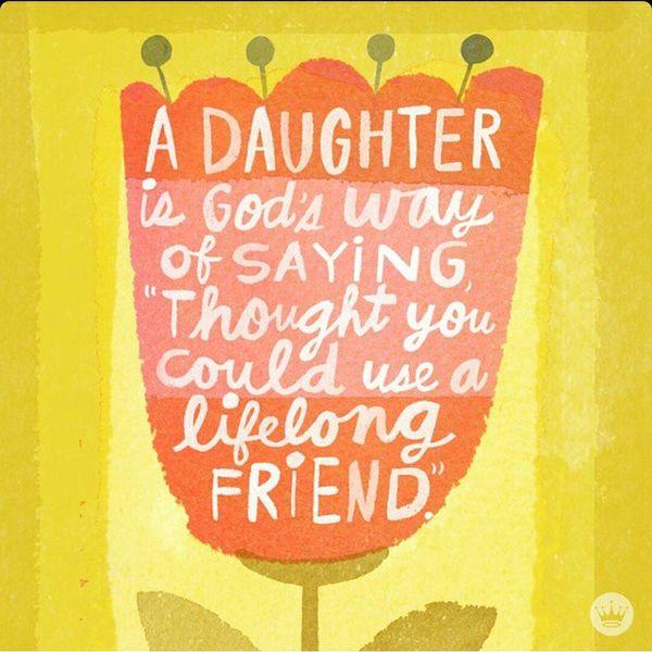 mom and daughter sayings
