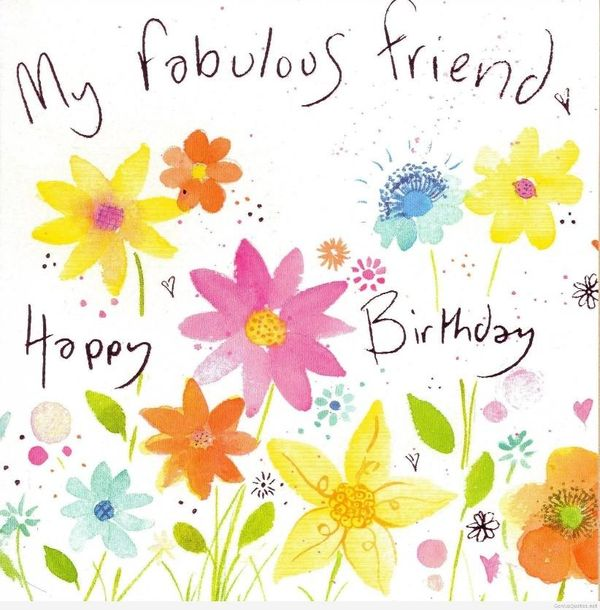 Congratulate Your Friend with Happy Birthday Images for Her 2