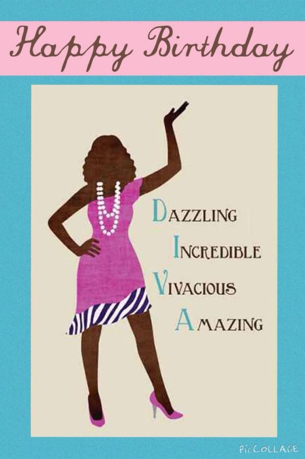 Cool Happy Birthday Images for Her for African American Women 1