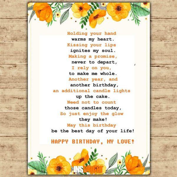 Short i love you poems for husband