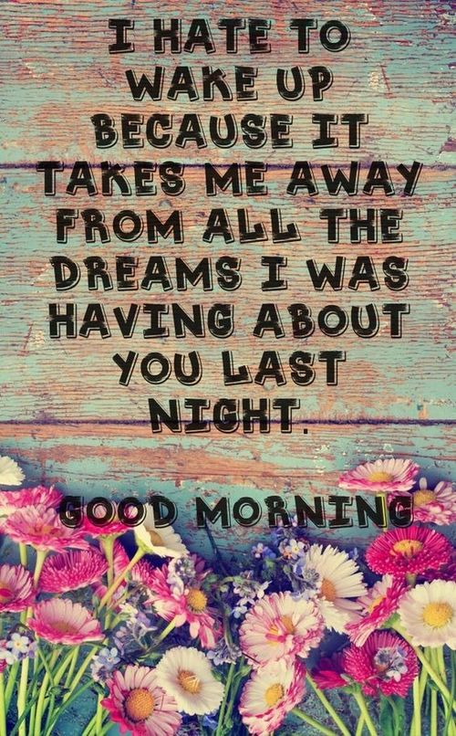 Good morning quotes for the beloved