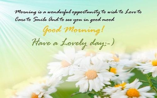 Gorgeous good morning card for girls