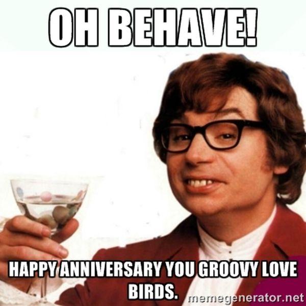 Funny Anniversary Memes
