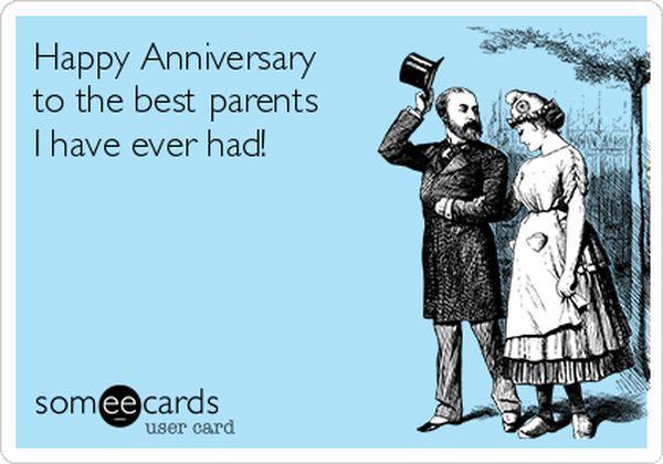 Happy Anniversary Parents Funny 1
