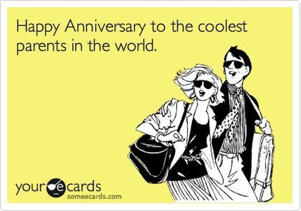 Happy Anniversary Parents Funny