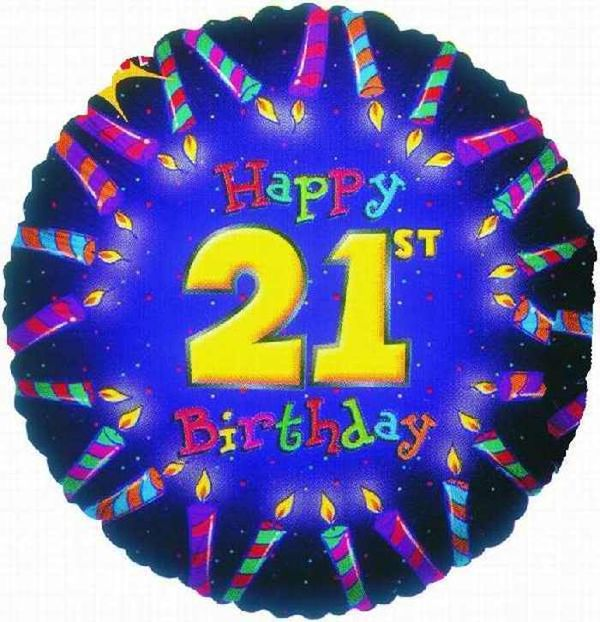 Wonderful 21st Birthday Images Graphics Free