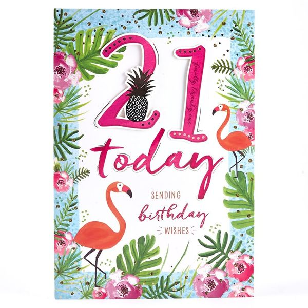 Fabulous Images of 21st Birthday Cards