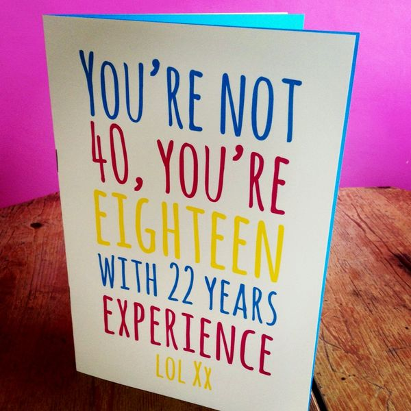 Magnificent 40th Bday Quotes for Her