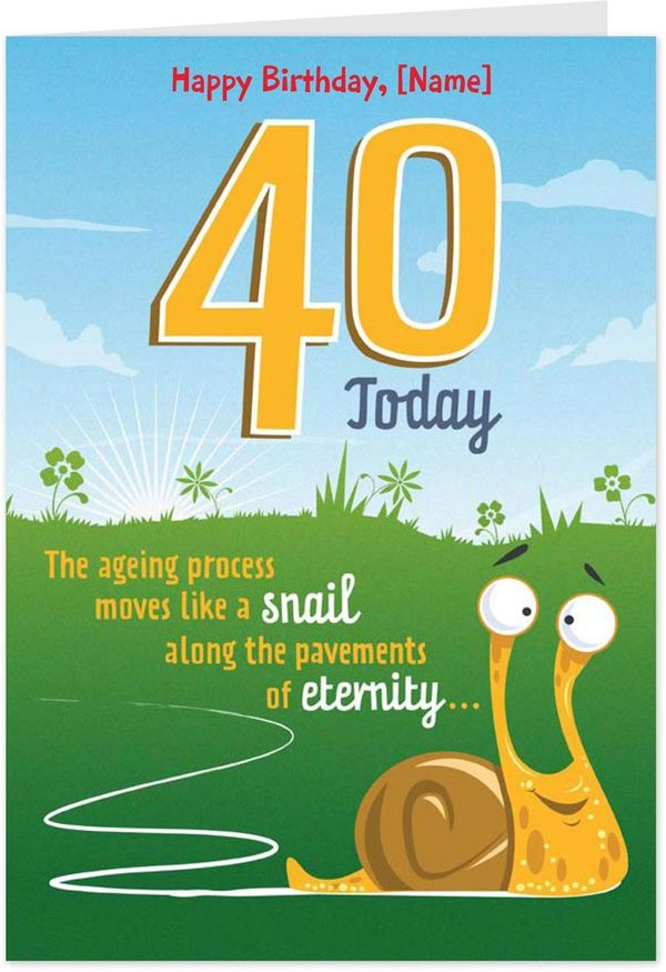 Fine Funny 40th Birthday Pictures