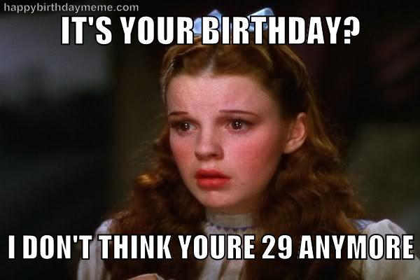 Tender Happy 30th Birthday Meme