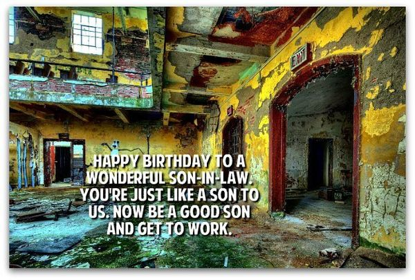 Happy birthday soninlaw images and memes 5