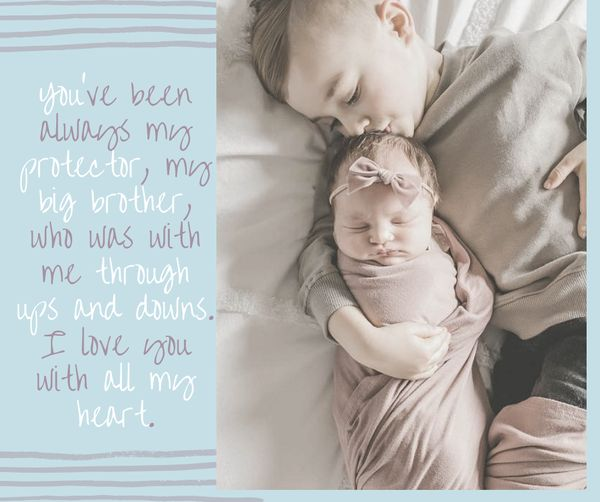 Sibling Love Quotes 2