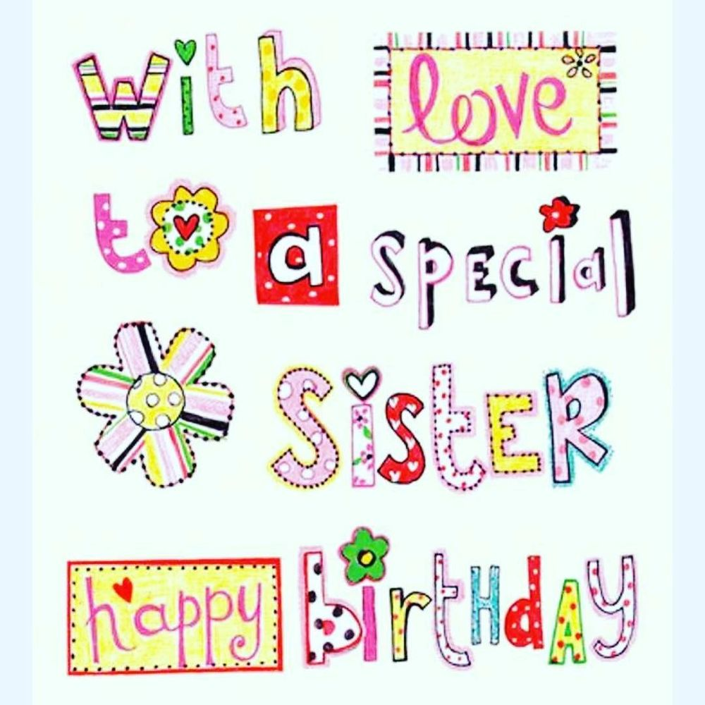 Cute Birthday Quotes for Sister 7