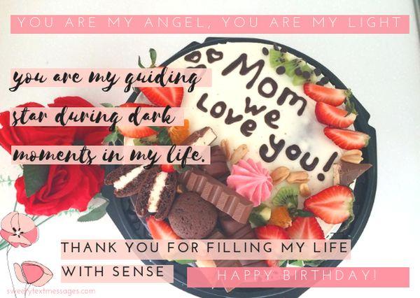A cute happy birthday mom poem