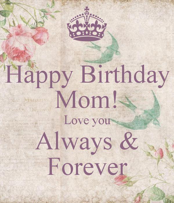 Happy Birthday Mom Quotes 3