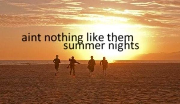 Collection of the Best Summer Nights Quotes