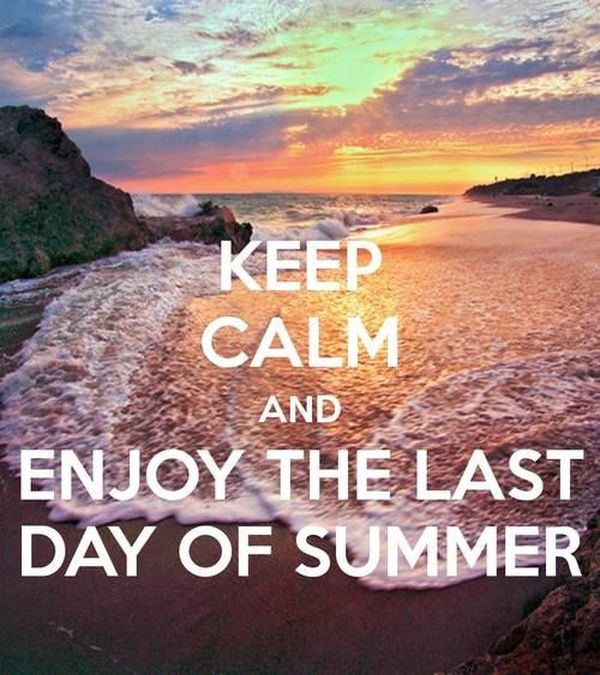 Interesting Quotes about the Last Day of Summer