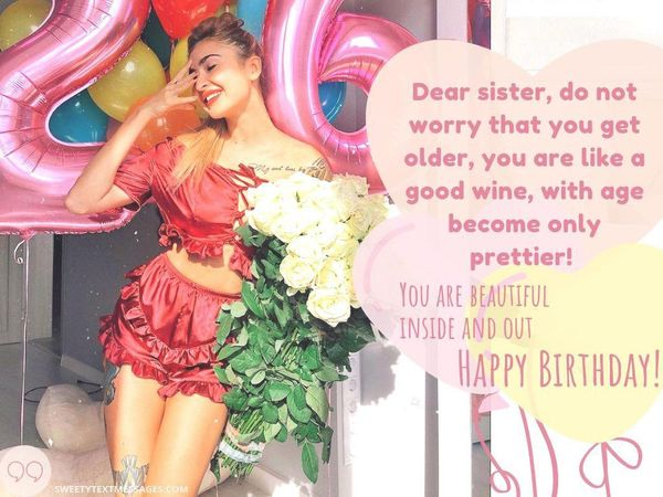 Cute Birthday Quotes for Sister 1