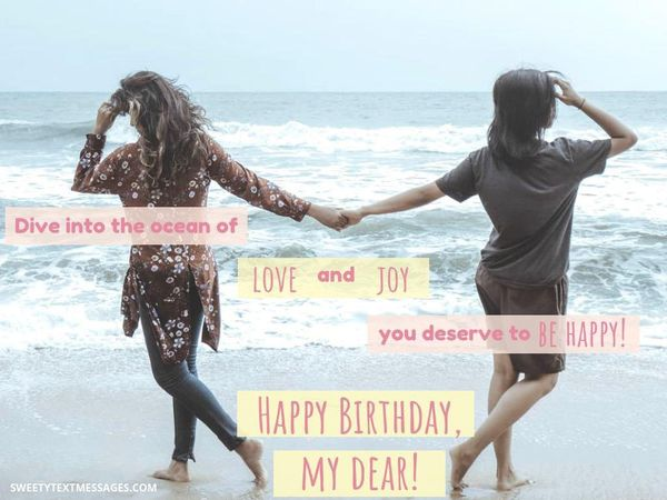 Inspirational birthday wishes for an elder sister