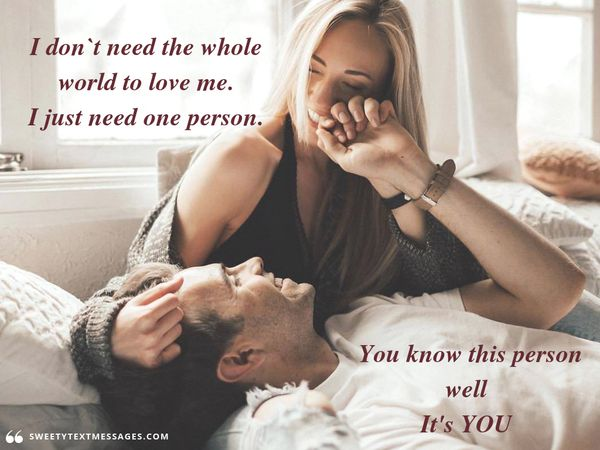 Cute quote about true love for him