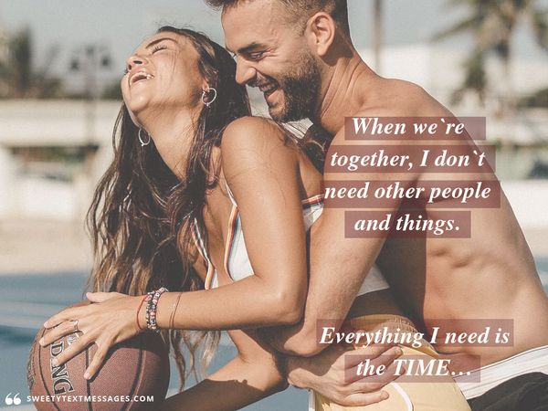 True love quote for him to tell about your feelings