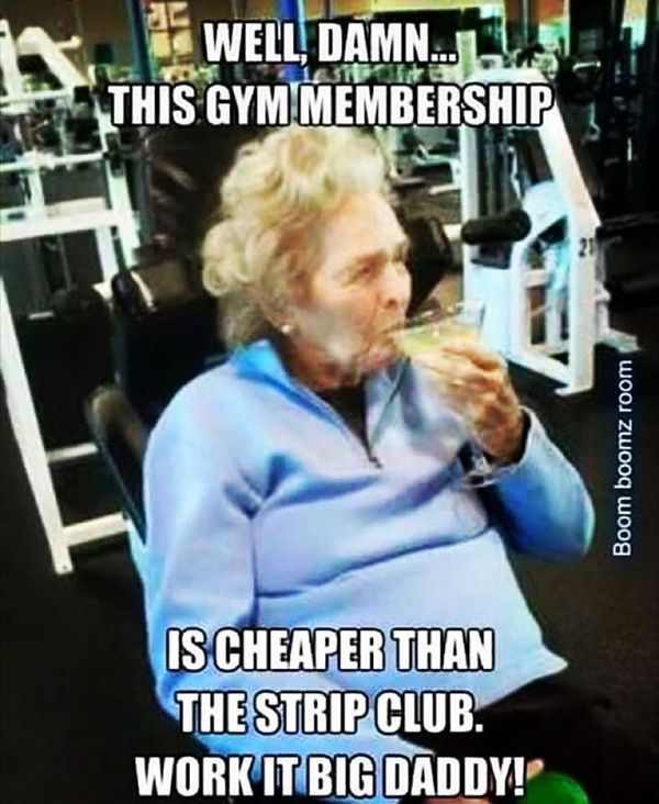 Cool I Work Out Meme 3