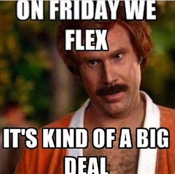 Friday Workout Meme 1