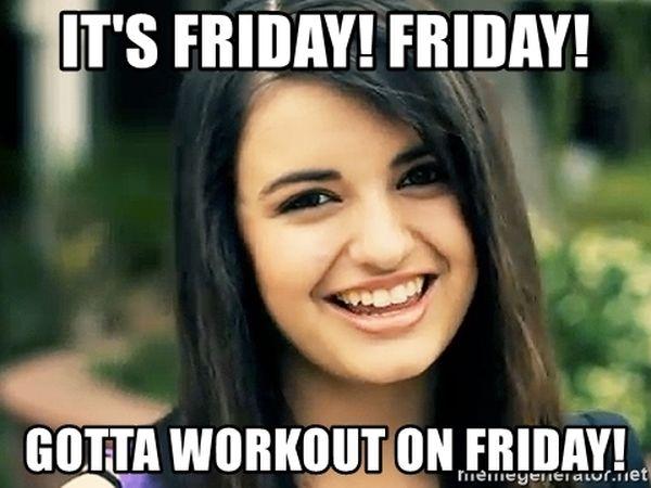Friday Workout Meme 5
