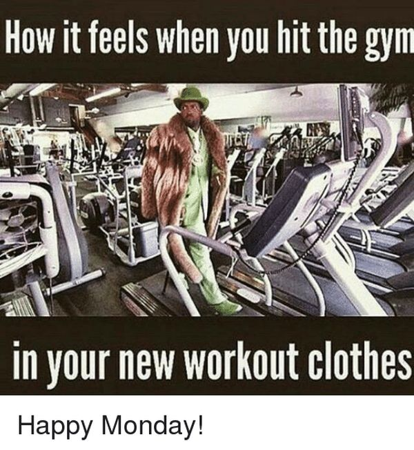 Funny Memes About Working Out in New Gym Clothes 3
