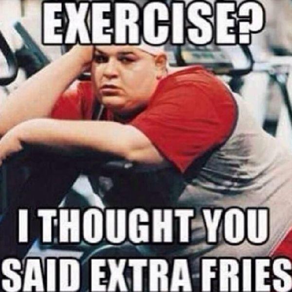 Hilarious Exercise Meme 1