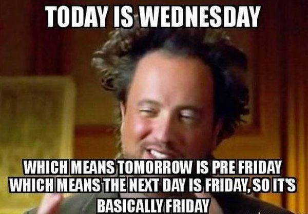 Hilarious Wednesday Work Meme 1