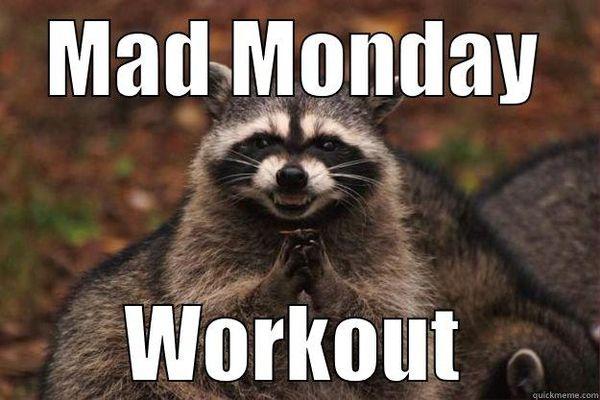 Monday Workout Meme 4