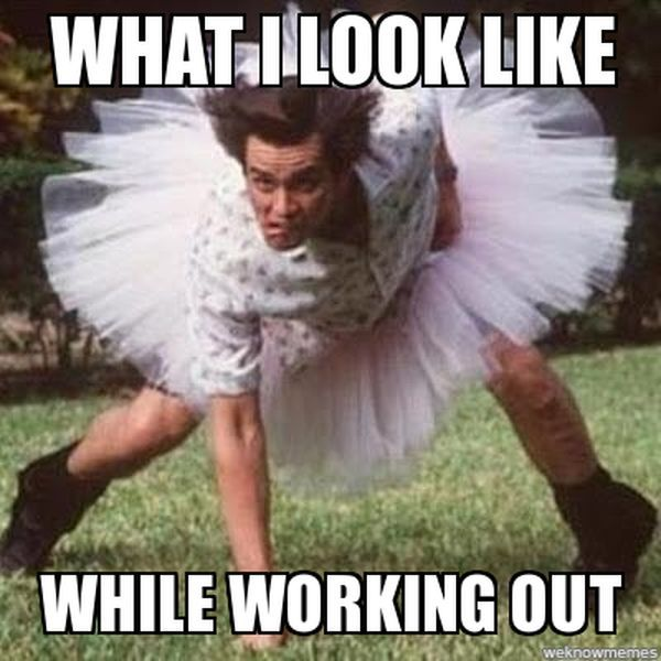 Motivational Working Out Meme 2