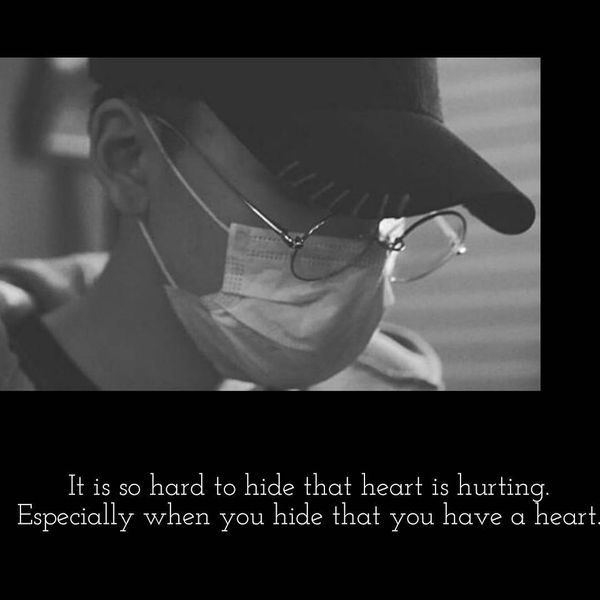 Exciting My Heart Hurts Quotes with the Shade of Advice